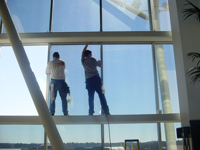 Commercial Tint, Office Shades, Office Screens, Solar Commercial
